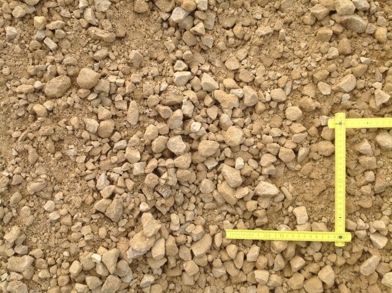 dolomīta šķembu maisījums 0-32p