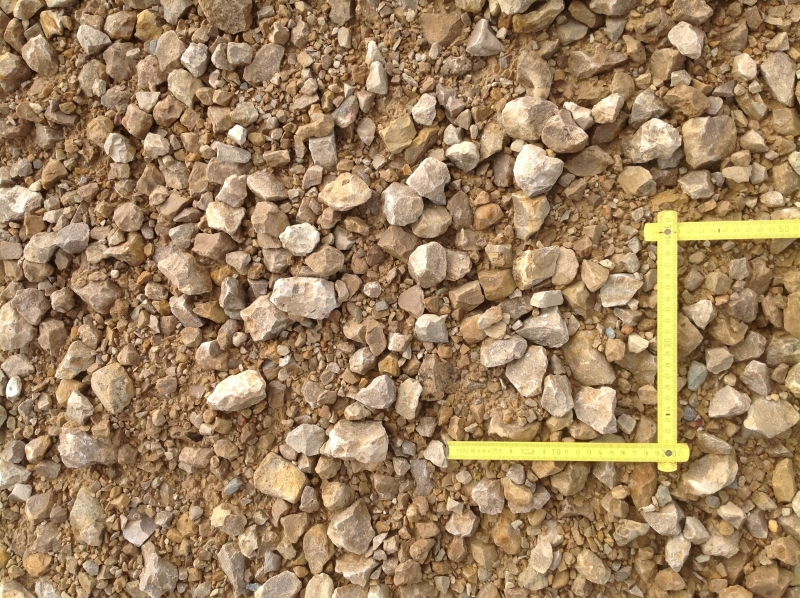 dolomīta šķembu maisījums 0-45